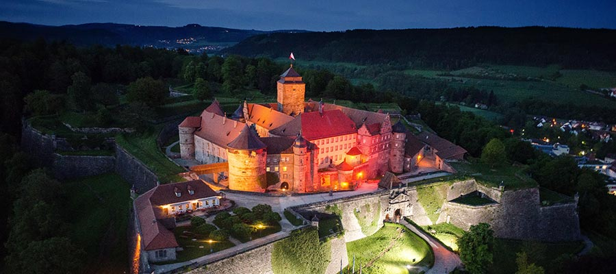 Discover the Rosenberg Fortress in Kronach